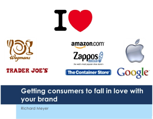 gettingcustomers to love your brand